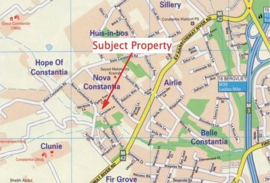 Constantia: Subdivision Erf 6670 Tamarisk Lane